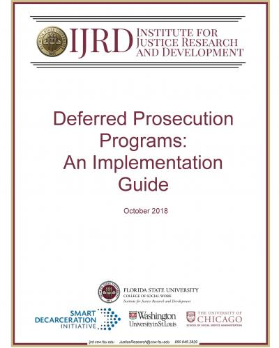 Deferred Prosecution Programs: An Implementation Guide