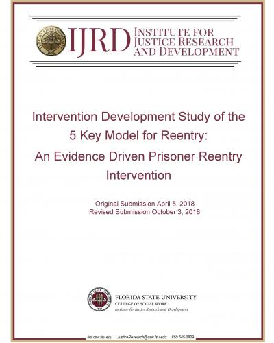 Intervention Development Study of the 5 Key Model for Reentry: An Evidence Driven Prisoner Reentry Intervention