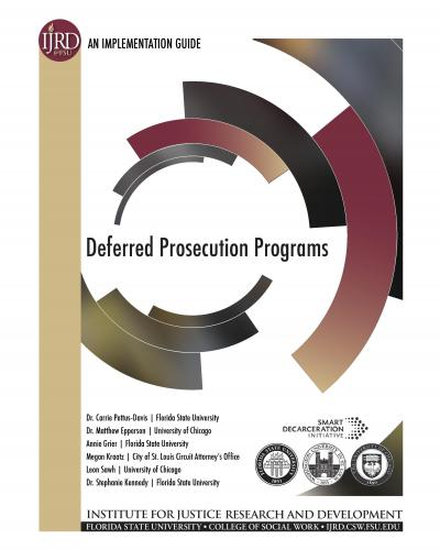 deferred prosecution programs