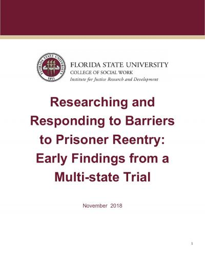 researching and responding to barriers to reentry