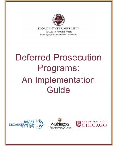 deferred prosecution implementation guide