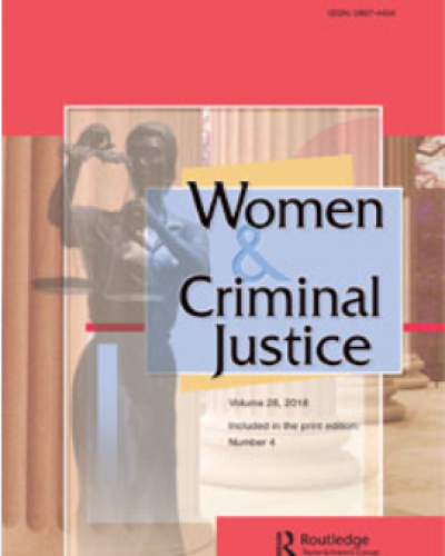 The Relationship Between Interpersonal Victimization and Women's Criminal Sentencing: A Latent Class Analysis