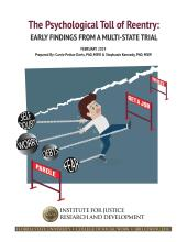 The Psychological Toll of Reentry: Early Findings from a Multistate Trial