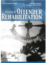 journal of offender rehabilitation